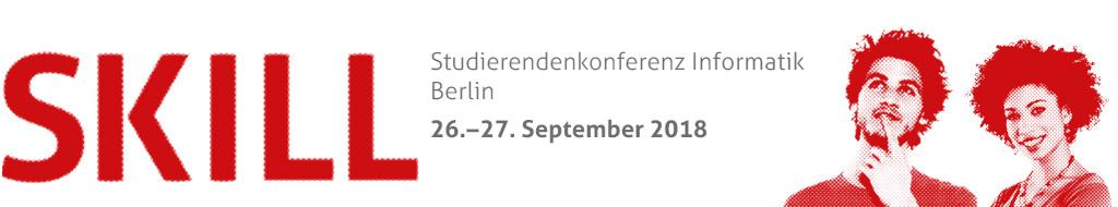 Studierendenkonferenz Informatik 2018