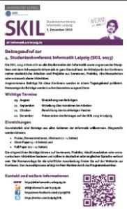 CfP zur SKIL 2013
