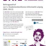 CfP Poster zu SKIL 2013